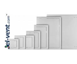 Plastic access panels
