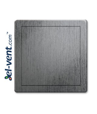 Access panel, silver satin colour EDT14SS, 200x300 mm