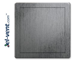 Access panel, silver satin colour EDT10SS, 150x150 mm