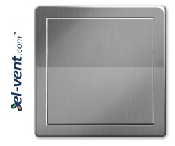 Access panel, silver colour EDT12SR, 200x200 mm