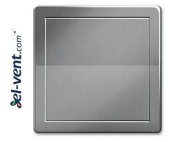 Access panel, silver colour EDT12SR, 200x200 mm