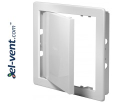 Access panels from ABS plastic