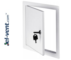 Metal access panel 200x200 mm DMZ85