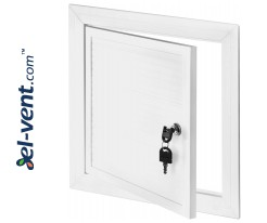 Access doors from PVC plactic