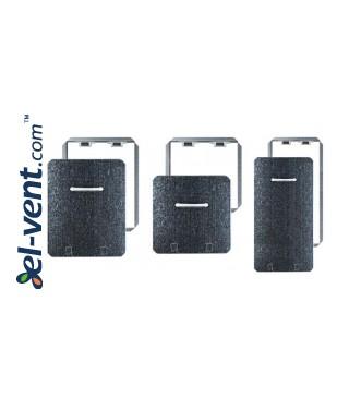 Plumbing access panel 200x200 mm MMC4 - sizes