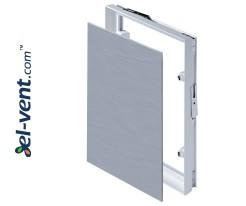 Revizinės durelės plytelėms (200x1)x(200x1) 206x206 mm, 80731 MPCV4
