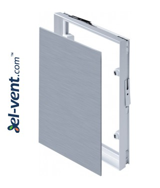 Invisible and magnetic tile access panels MAGNA