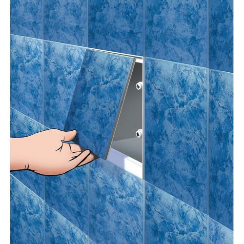 Экран для ванны на магнитах своими руками 89