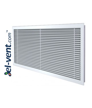 ALWP-1-30 - supply and exhaust air grilles with angle 30 degrees 1