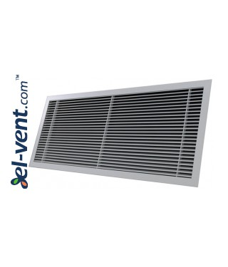 ALWP-1-30 - supply and exhaust air grilles with angle 30 degrees 3