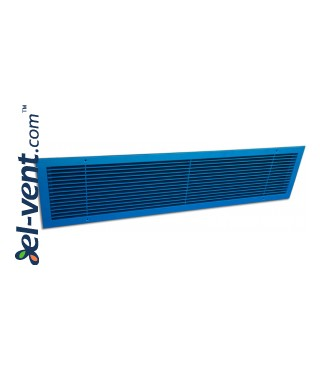 ALWP-1 - supply and exhaust air grilles coated by blue powder