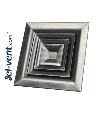 AN - ceiling diffusers - from stainless steel