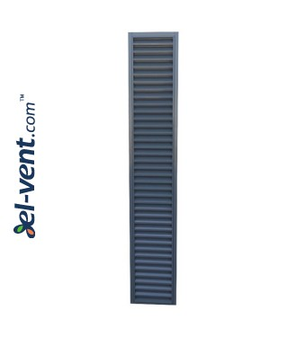 CzP - door/window panel external intake louvres, galvanized steel