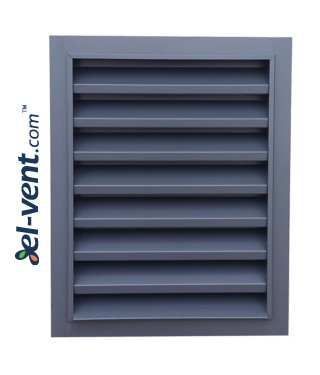 CzP - door/window panel external intake louvres