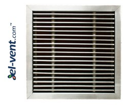 KPWP-1 - stainless steel floor grilles