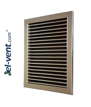 KPZ - air-flow grilles, galvanized steel