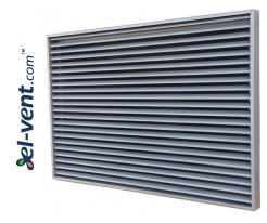 Wall grilles for ventiliation