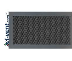 KSI/D - door grille with expanded metal mesh