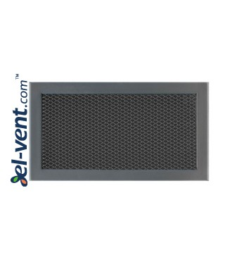 KSI/D - door grille with expanded metal mesh 1