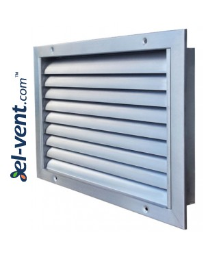 KSL - air-flow grilles, stainless steel