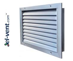 HVAC metal air grilles