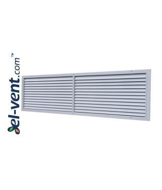 KWSP - air-flow grilles, galvanized steel