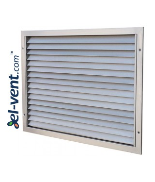 KWSP - air-flow grilles, stainless steel