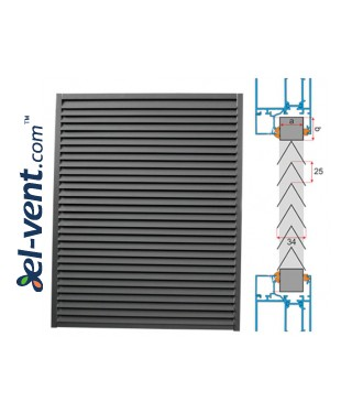 KWSP/P - panel grilles