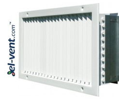 ST-S G - wall grilles with adjustable vertical blades and damper