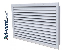 ST-W - wall grilles with adjustable blades