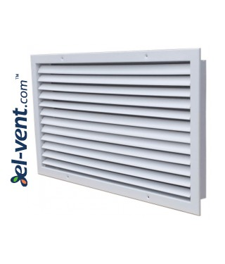 ST-W - wall grille with adjustable blades 2