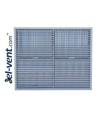 ST-W/G - wall grilles with adjustable blades and damper, aluminium