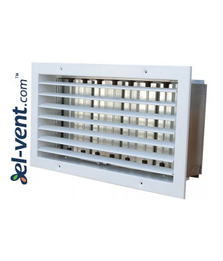 ST-W/G - wall grilles with adjustable blades and damper, galvanized steel