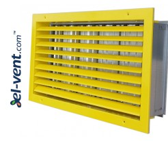 ST-W/G - wall grilles with adjustable blades and damper
