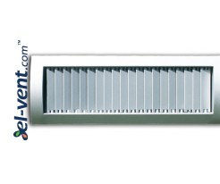 STS-S – air grilles for a spiral ducts with adjustable vertical blades