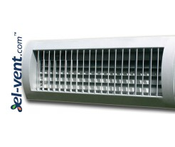 STS-W/S and STS-S/W – air grilles for a spiral ducts with two rows of adjustable blades
