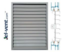 ZSR/P - door/window panel louvres with adjustable blades