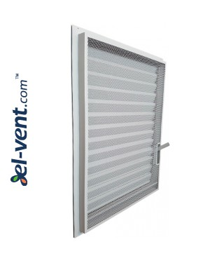 ZSR/P - door/window panel louvre with adjustable blades