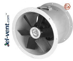 Explosion proof axial duct fans AVOFK EX ≤20500 m³/h