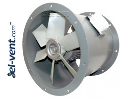 Padidintos galios ašiniai kanaliniai ventiliatoriai AVOFK ≤27000 m³/h