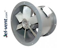 Осевые канальные вентиляторы повышенной мощности AVOFK ≤27000 м³/ч