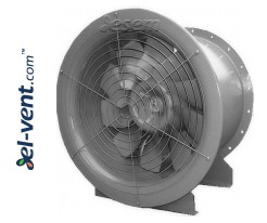 High performance axial duct fans AVWOO ≤77220 m³/h