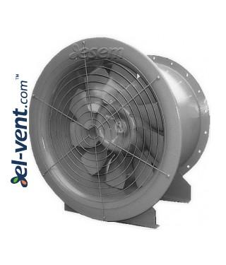Didelio našumo ašiniai kanaliniai ventiliatoriai AVWOO ≤77220 m³/h