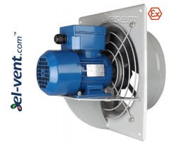 Explosion proof axial fans AVWOSE EX-ATEX  ≤11000m³/h