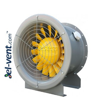 Increased efficiency and pressure axial duct fans AVWOX ≤37080 m³/h