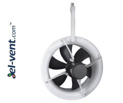 Šiltnamių ventiliatoriai AXIA-G ≤10000 m³/h