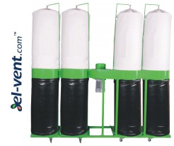 Dust and shavings extraction systems