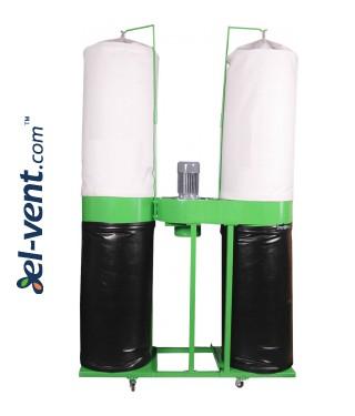 Комплект удаления стружки и пыли DNZOT-2N ≤3500 м³/ч