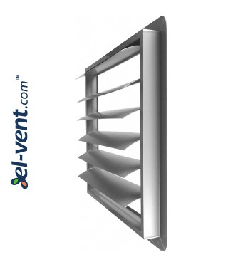 Вентиляционные решетки гравитационные GG250-450