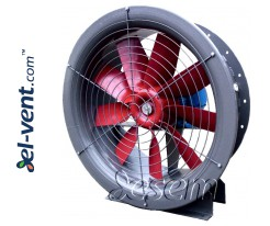 Fans for grain and wood drying